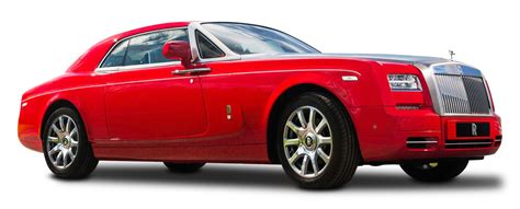 red rolls royce phantom coupe car png image pngpix