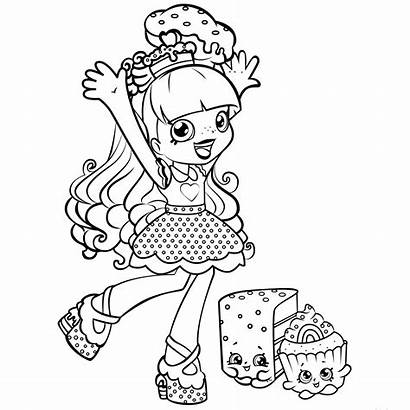 Coloring Pages Shopkins Characters Basically Appearances Surprise