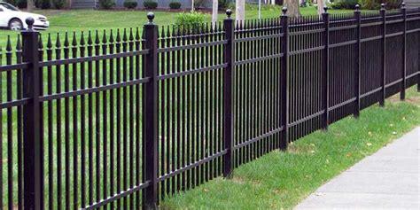 metal fencing costs how much does a fence cost inch calculator