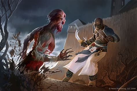 zombie attack pathfinder deviantart lieblings untoter challenge tag paizo deviant