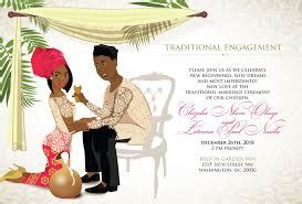 nigerian traditional marriage card