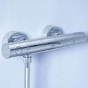 Thermostat Duscharmatur Entkalken : brauseset mit thermostat der badarmaturen ~ Lizthompson.info Haus und Dekorationen