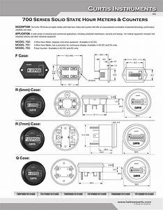 Curtis Hour Meter Wiring Diagram