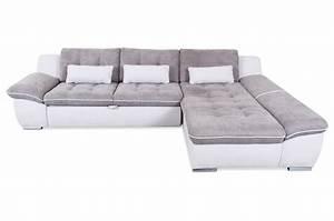 Ecksofa Grau Mit Schlaffunktion : ecksofa milo mit schlaffunktion grau sofas zum halben preis ~ Whattoseeinmadrid.com Haus und Dekorationen