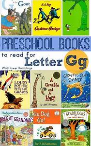 preschool books for the letter g With letter books for preschool