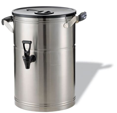 20 X 20 Stainless Steel Sink by 3 Gallon Stainless Steel Tea Urn W Plastic Lid China
