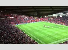 Old Trafford View from the North West Quadrant YouTube