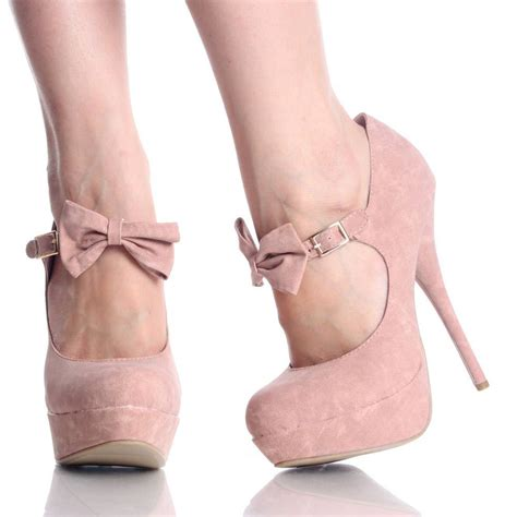 light pink high heels bonjour pretty pretty