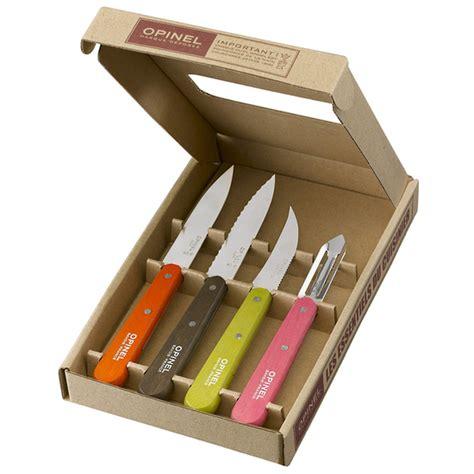 small kitchen knives opinel kitchen essentials 4 small kitchen knife set