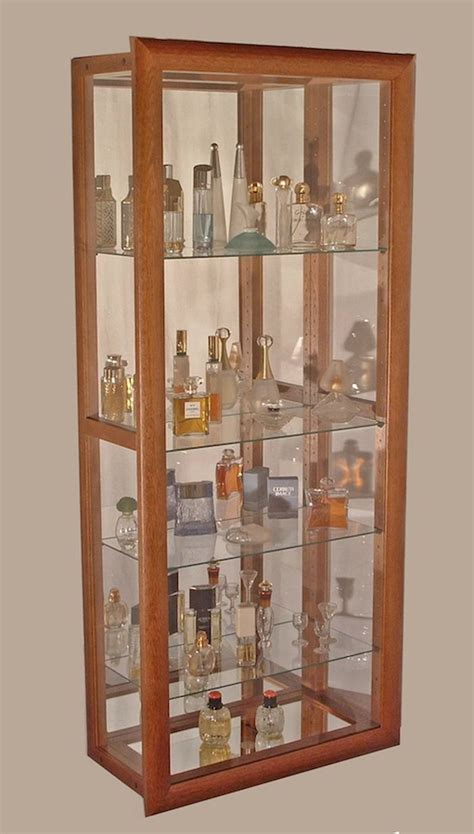 vitrine collection magasin vitrines murales verticales