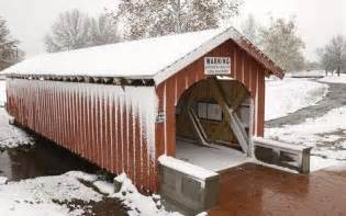 Snow Covered Bridge