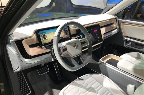 los angeles auto show rivian rs  electric suv