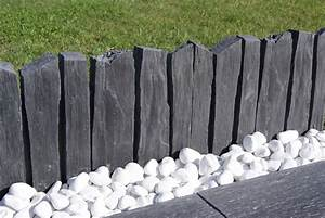 Bordure Souple Jardin : bordure de jardin ardoisi re de pierra en pierre ~ Premium-room.com Idées de Décoration