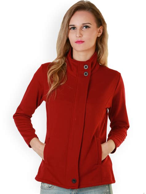Red Jacket For Women | Jackets Review