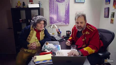paul scheer harmontown jack black plays beethoven in first ep of great minds w