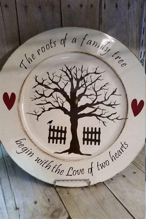 charger plate crafts ideas  pinterest paint