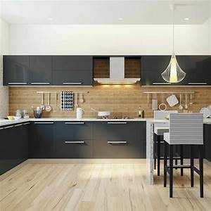 Attractive Indian Modular Kitchen Colour Combination