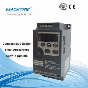 Energy Saving Variable Frequency Drive  Vfd  Single Phase