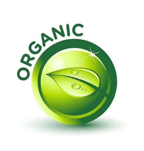 Vector Green Organic Label Stock Vector Illustration Of