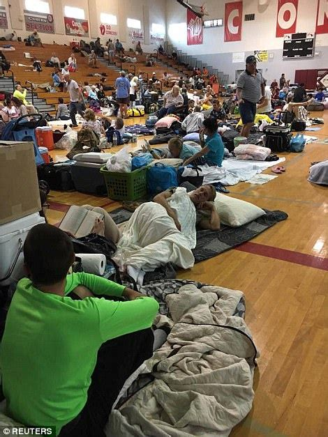 floridas shelters  hurricane irma ravages state