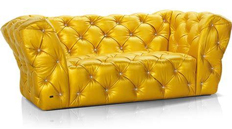canapé jaune canape jaune bretz