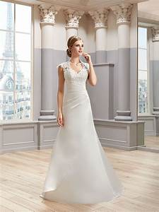 mlle satin bridal gown wedding dress with straps pronuptia With robe pashmina pronuptia