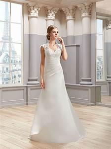 mlle satin bridal gown wedding dress with straps pronuptia With robe pashmina pronuptia