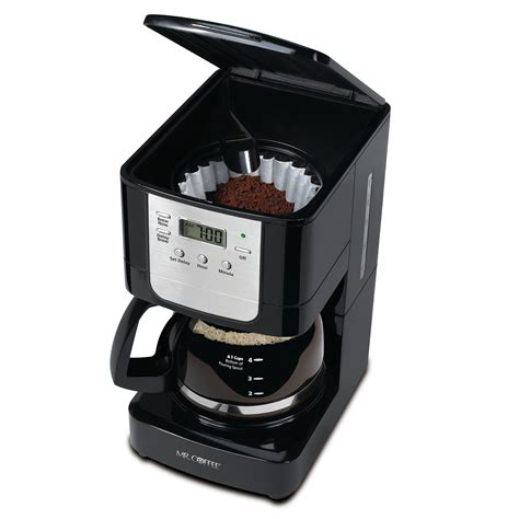 Updated ergonomic carafe offers easy pouring and. Mr. Coffee 5-Cup Programmable Coffee Maker & Reviews | Wayfair
