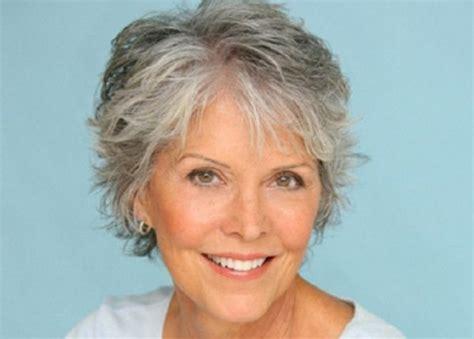 short haircuts  women  gray hair  thin sleek