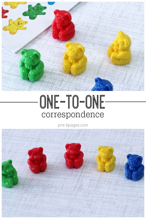 pre k math one to one correspondence activities for preschool 261 | one to one1