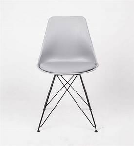 Stuhl Skandinavisch Grau : design stuhl grau stuhl gepolstert grau mit metallgestell ~ Whattoseeinmadrid.com Haus und Dekorationen