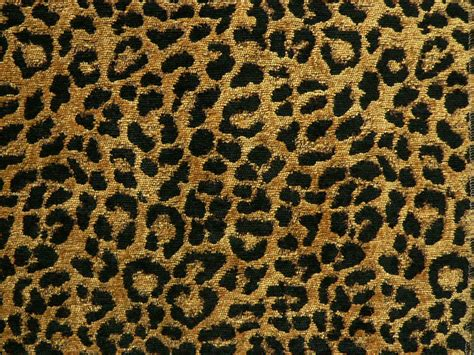 Jaguar Print Fabric by Drapery Upholstery Fabric Chenille Animal Print Leopard