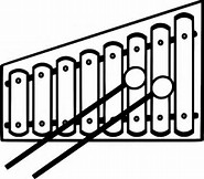 HD Wallpapers Free Coloring Page Xylophone