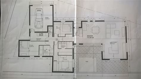 modele de placard de cuisine avis sur plan d une maison de 130m2 sur terrain atypique