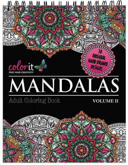 Mandalas Coloring Colorit Volume Mandala Adult Illustrated