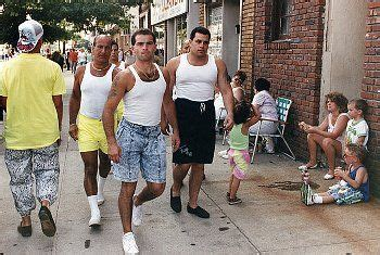 gotti jr his boy in the beater chest jean