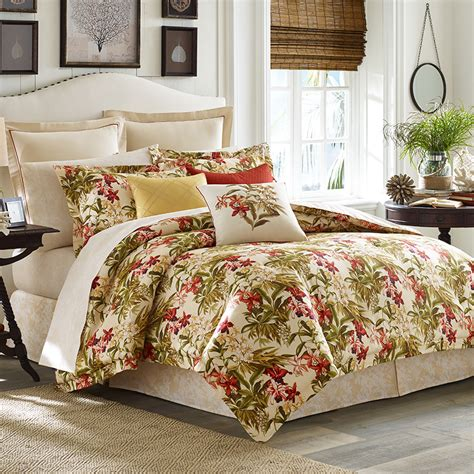 tommy bahama daintree comforter and duvet set from