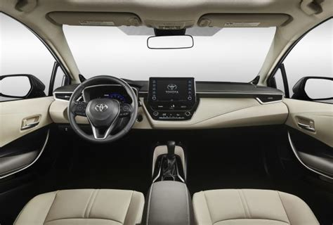 Toyota Corolla 2020 Interior by 2020 Toyota Corolla Hybrid Us Interior Mpg Price