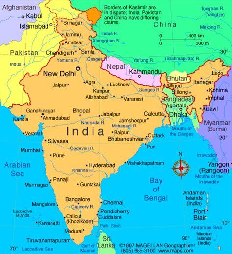 Carte Du Monde Inde by Cartograf Fr L Inde