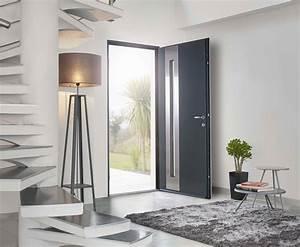 Porte d39entree solabaie les avantages d39une porte en alu for Porte d entrée pvc en utilisant fenetre alu standard