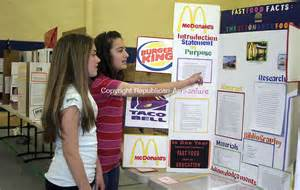 8th Grade Science Fair Projects
