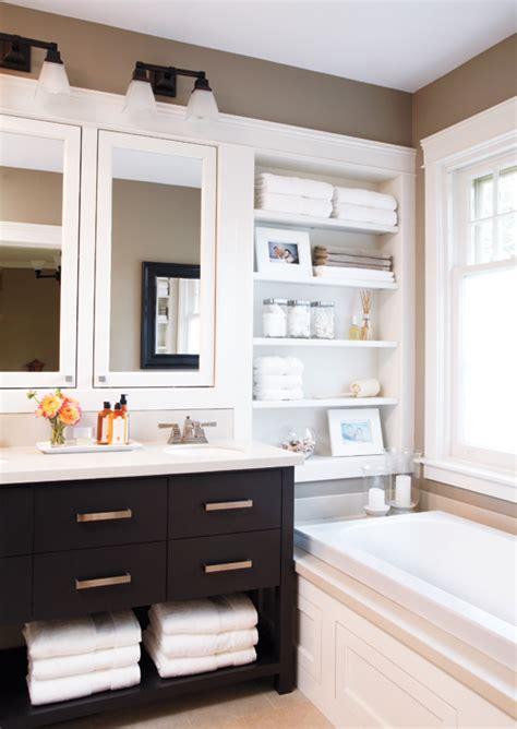 built in bathroom cabinets built in bathroom shelves design ideas