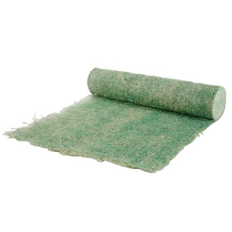 straw matting for grass seeding 4 ft x 180 ft green single net seed germination and