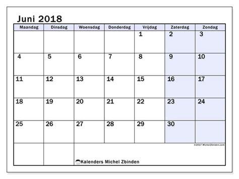 kalenders juni mz