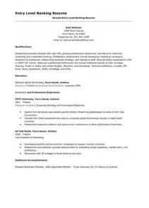 resume sles for banking entry level resume entry level insurance ebook database
