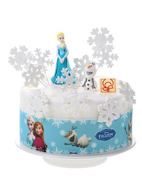 3 bandes en sucre d 233 coration g 226 teau reine des neiges frozen achat de decoration animation