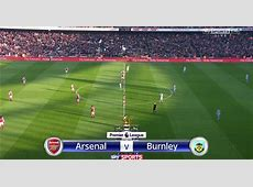Match of the Day TV Arsenal vs Burnley – Premier League