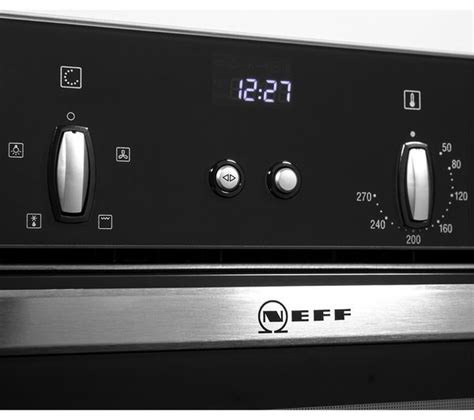 neff oven l cover neff b44s32n5gb slide hide electric built in single oven stainless steel ebay