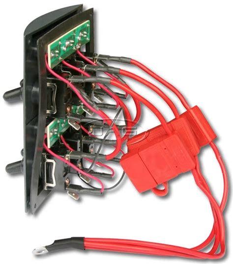Switch Panel Wiring Diagram Fuse Box