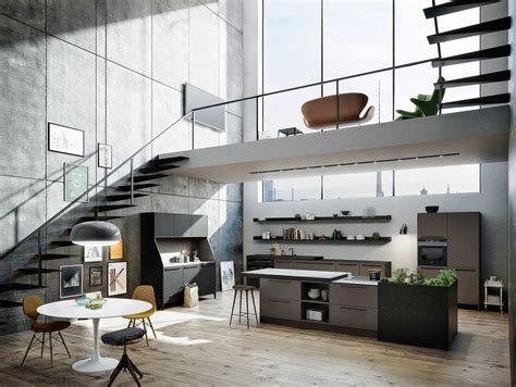 Urban Kitchens :  Kitchen Design Without Dictates Or Limits